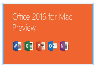 चीन Home and Business Microsoft Office Professional 2016 Product Key for Mac Genuine license installation आपूर्तिकर्ता