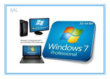 चीन Windows 7 Professional Full Retail Version 32 & 64 Bit With Genuine Key आपूर्तिकर्ता