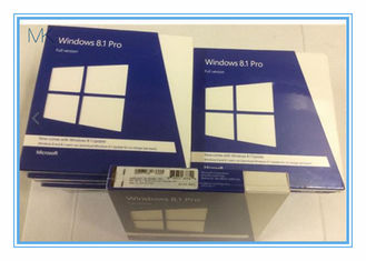 चीन 32 / 64 Bits Windows 8.1 Retail Version DVD Professional Windows Pro Retail आपूर्तिकर्ता
