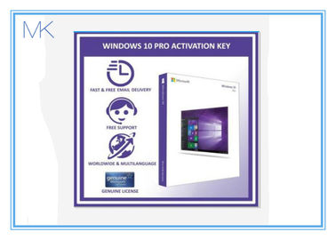 चीन 100% Activation Online Windows 10 Retail Box 64 Bit Windows 10 Pro Software आपूर्तिकर्ता