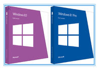 चीन Globally Activate online Windows 8.1 Pro 64 Bit / 32 bit OEM Package फैक्टरी