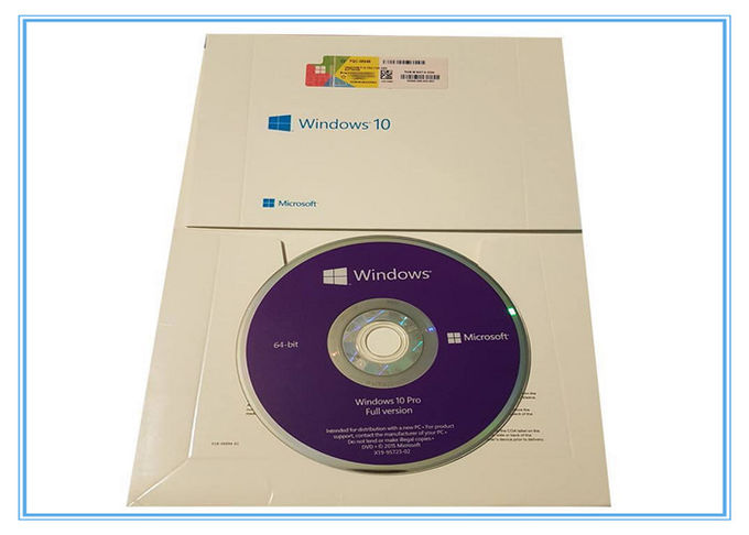 Microsoft Windows Software Microsoft Windows 10 Pro Oem 64 Bit System Builder DVD